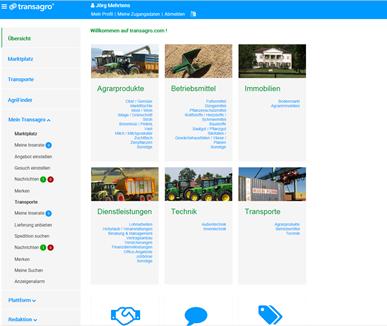 Dashboard - transagro.com